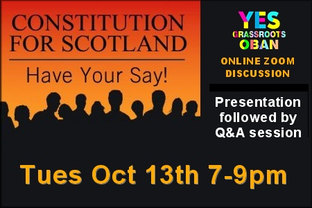 Guest speaker meeting - Constitution for Scotland